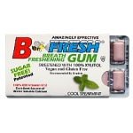 B-Fresh Xylitol Gum - Spearmint - 12 piece sleeve