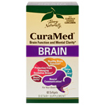 Terry Naturally CuraMed Brain - 60 gels
