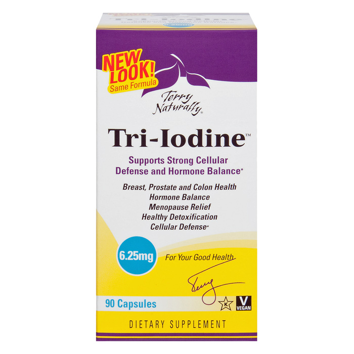 Best Price Terry Naturally Tri Iodine  Mg