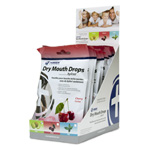 Hager Xylitol Dry Mouth Drops - Cherry - 12-pack box