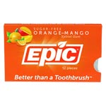 Epic Xylitol Gum - Orange-Mango - 12 piece sleeve