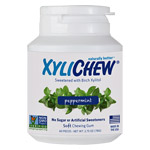 Xylichew Xylitol Gum - Peppermint - 60 pc. jar