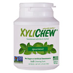 Xylichew Xylitol Gum - Spearmint - 60 pc. jar