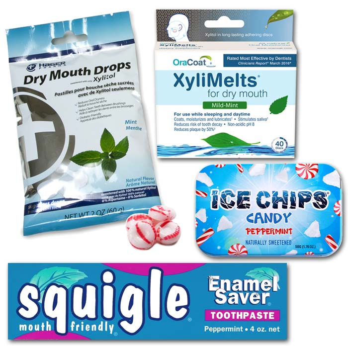 Dry Mouth Kits - Choose Mint Lovers or Sweet Lovers