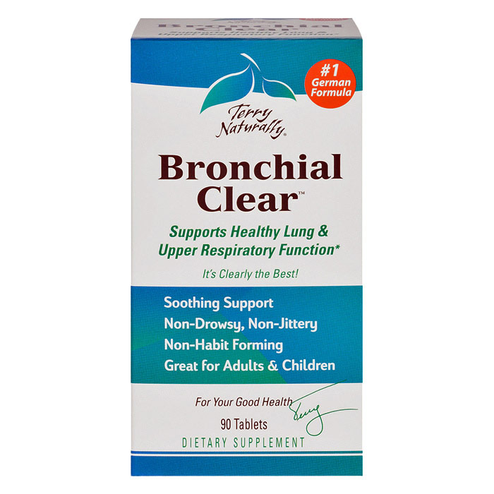 Terry Naturally Bronchial Clear - 90 Tabs