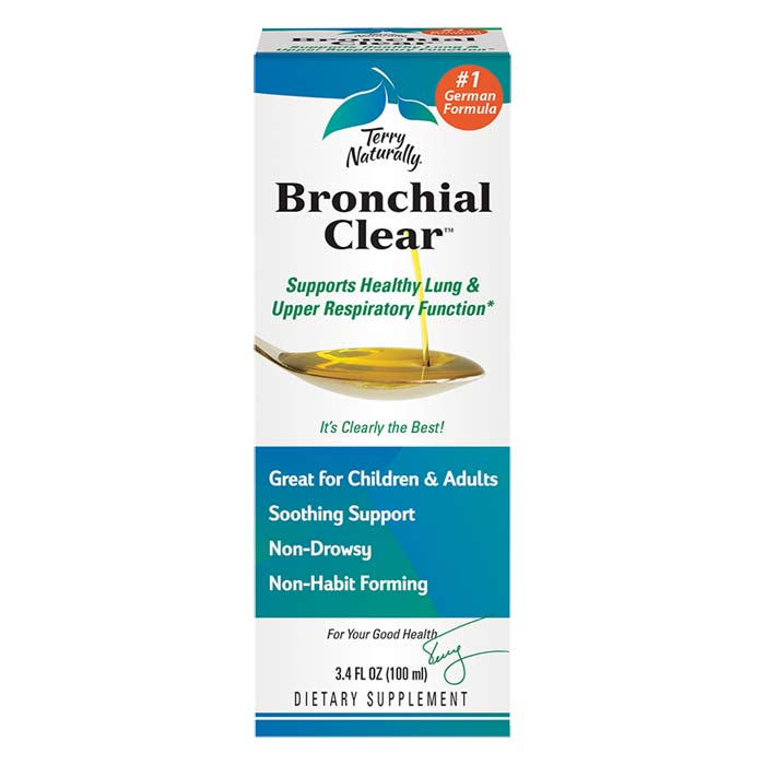 Terry Naturally Bronchial Clear Liquid - 3.4 oz.