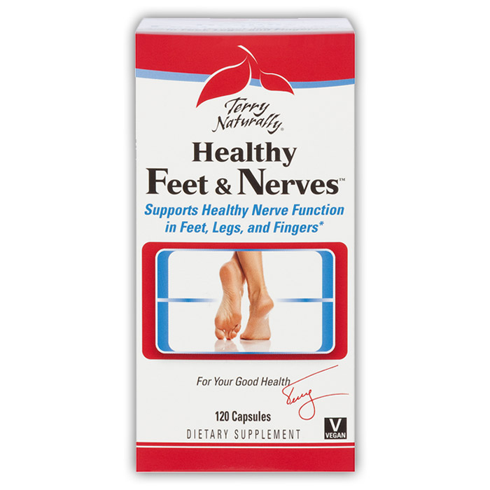 Terry Naturally Healthy Feet & Nerves - 120 caps