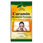 Terry Naturally Curamin Headache Relief - 60 tabs
