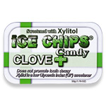 Ice Chips - Clove Plus - 1.76 oz. tins - Made in the USA