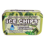 Ice Chips - Menthol-Eucalyptus - 1.76 oz. tin - Made in the USA