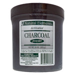 Natural Elements Charcoal Powder - 10 oz. jar