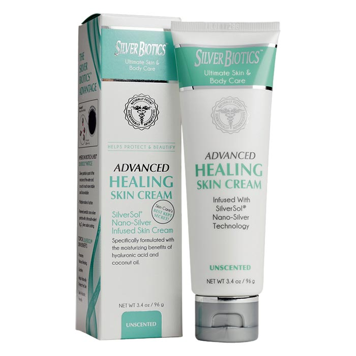 ABL Silver Biotics Healing Skin Cream - Unscented - 3.4 oz.