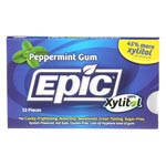 Epic Xylitol Gum - Peppermint - 12 piece sleeve