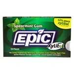 Epic Xylitol Gum - Spearmint - 12 piece sleeve