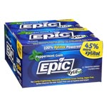 Epic Xylitol Gum - Peppermint - 144 piece box