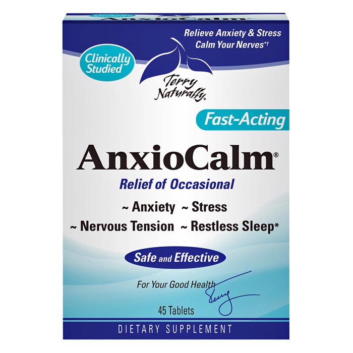 Terry Naturally AnxioCalm - 45 tabs