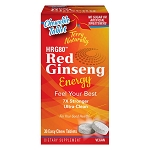 Terry Naturally HRG80™ Red Ginseng Energy Chewable - 30 tabs