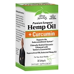 Terry Naturally Hemp Oil and Curcumin - 30 softgels