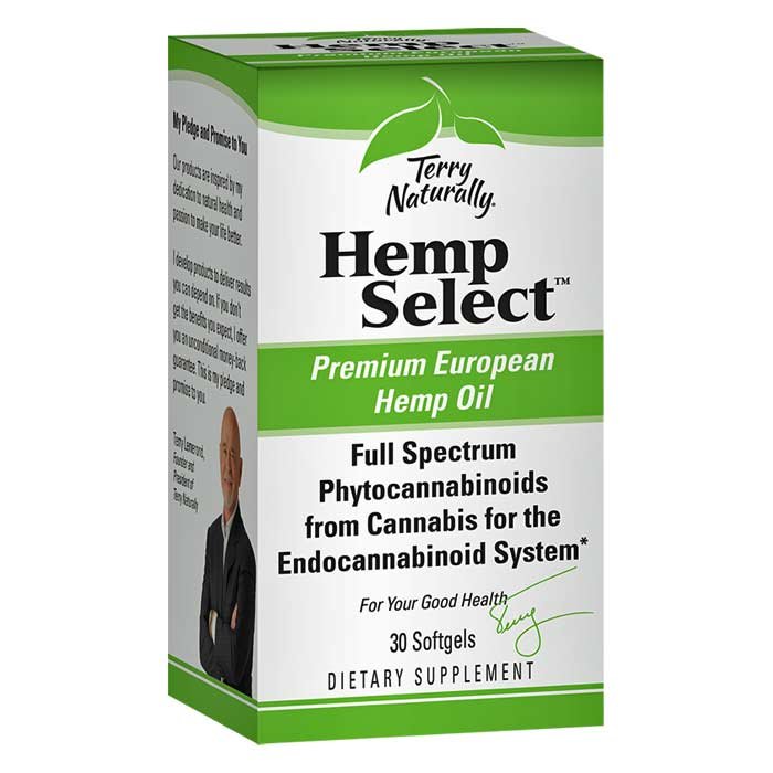 Terry Naturally Hemp Select - 30 softgels