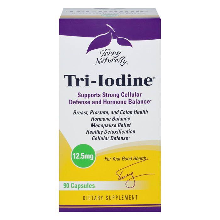 Terry Naturally Tri-Iodine 12.5 mg - 90 caps