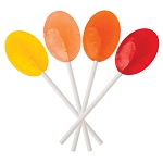 Dr. John's Healthy Sweets Lollipops - Sunkissed Fruits - 2.5 lb. - Made in the USA