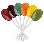 Dr. John's Healthy Sweets Lollipops - Classic Fruits - 2.5 lb.