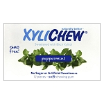 Xylichew Xylitol Gum - Peppermint - 12-pc. sleeve - Made in the USA