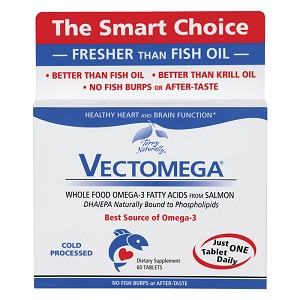 Terry Naturally Vectomega Omega-3 - 60 tabs