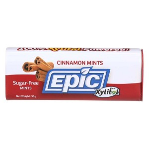 Epic Xylitol Mints - Cinnamon - 60 pieces