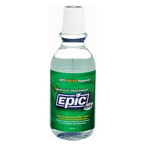 Epic Xylitol Mouthwash - Spearmint - 16 fl. oz.