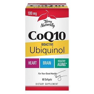 Terry Naturally CoQ10 Ubiquinol - 60 softgels