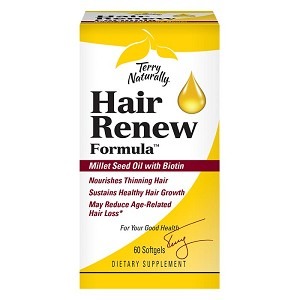 Terry Naturally Hair Renew Formula - 60 softgels