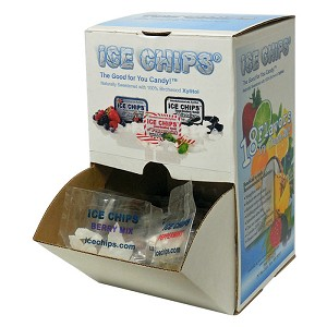 Individually Wrapped Ice Chips Samples Variety - 100 ct. Gravity Box - Mad in the USA