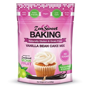 ZenSweet Baking -- Vanilla Bean Cake Mix